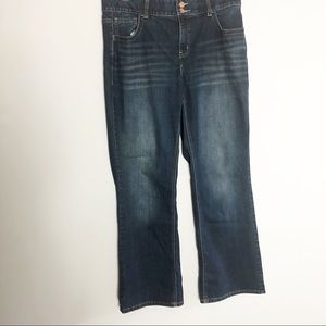 Lane Bryant Bootcut TighterTummy Sz14 Zipper Fly